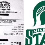 Man Could Win $1 Million if Michigan State Wins NCAA Basketball Tournament