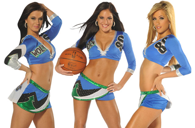 Minnesota Timberwolves Dancers