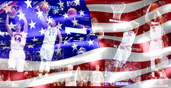 College basketball all-American